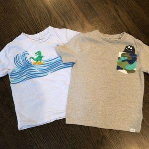 4T Gap T-shirt's
